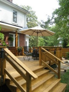 How To Build Deck Stair Handrails How To Build A House