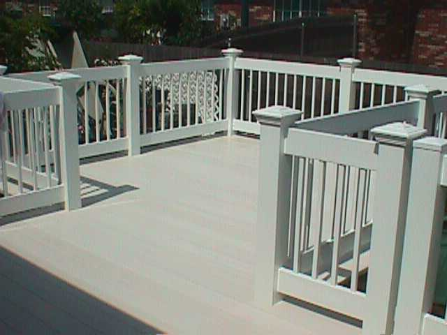 Sealing your deck to act as roof for below area how to for Vinyl decking material