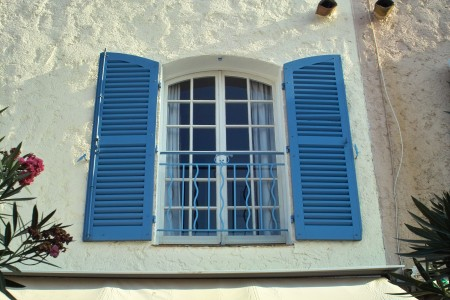 Outside French Shutters