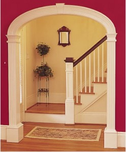 Beautiful Home Arched Doorway