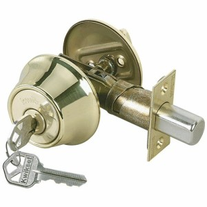 Deadbolt Lock Brass