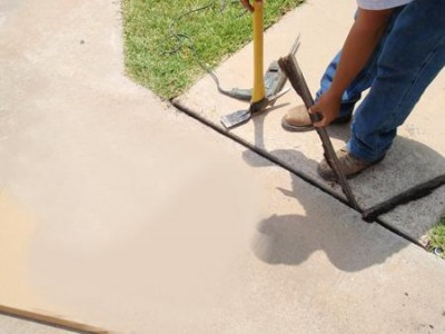 Sidewalk And Concrete Driveway Expansion Joints How To