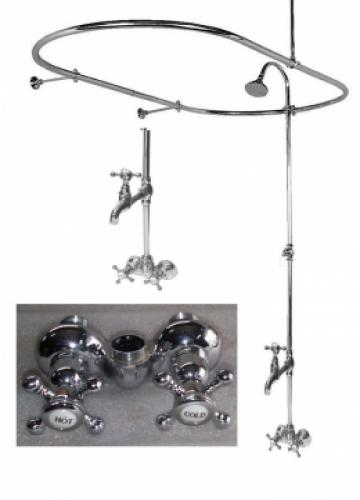 How To Add A Shower To An Existing Clawfoot Bathtub How To Build A House