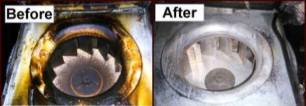 Kitchen Exhaust Fan - Before and After