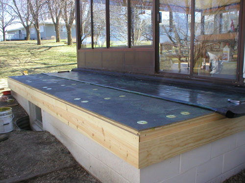 Sealing Your Deck To Act As Roof For Below Area How To