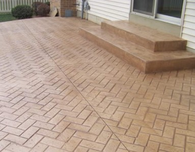 How To Colour And Stamp Freshly Poured Concrete How To