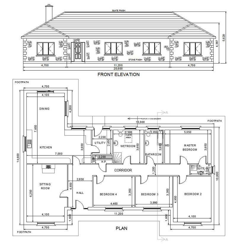 You should have house plans before you start building Blueprints of houses to build