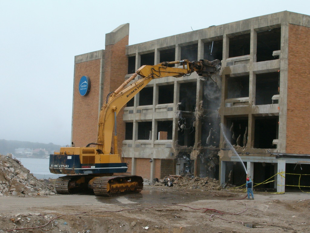 Residential Building Demolition