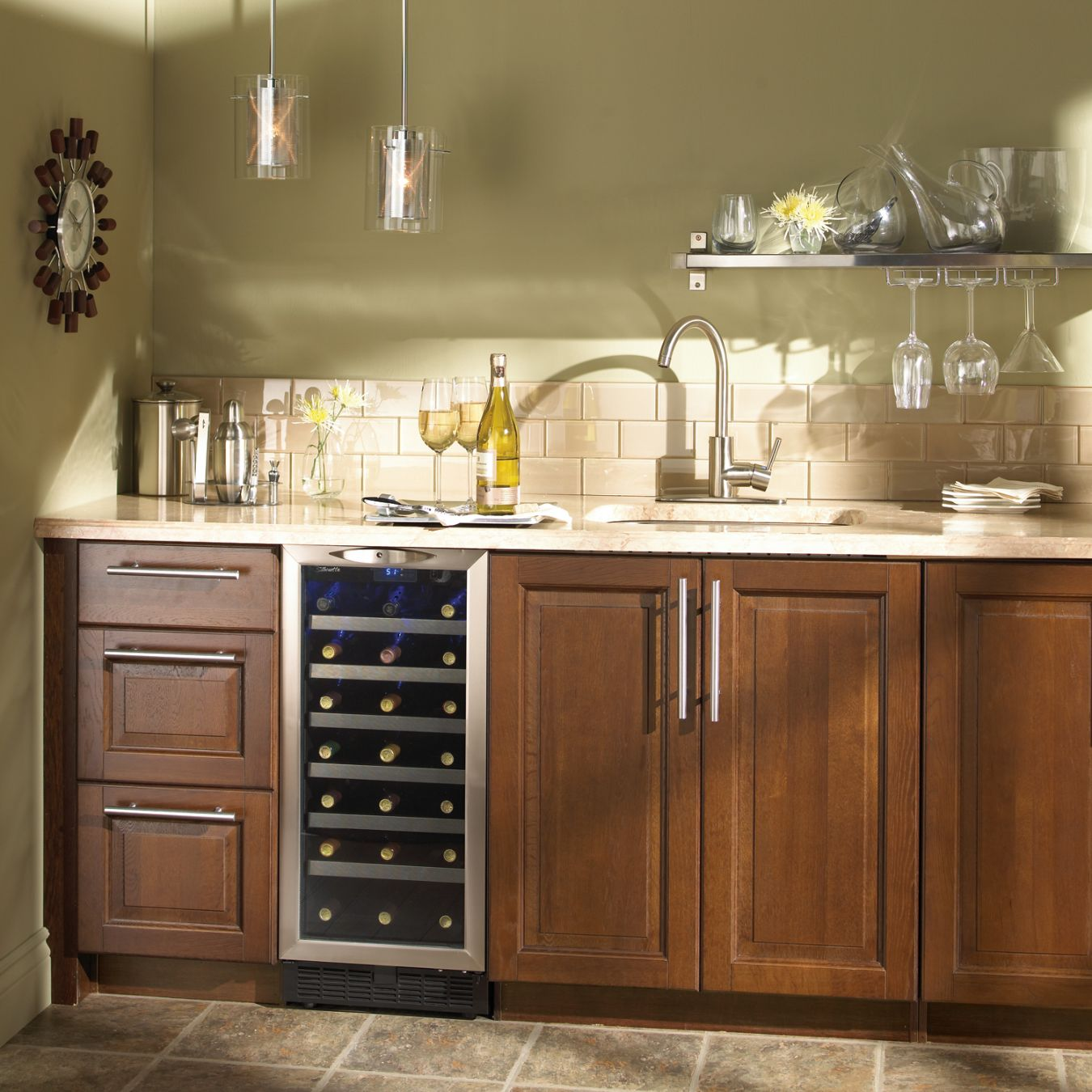 countertop edgestar cooler and inch doors french wine with wide beverage