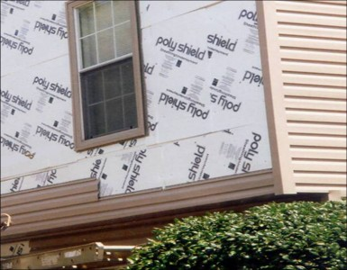 The Three Types Of Insulation Used Under House Siding