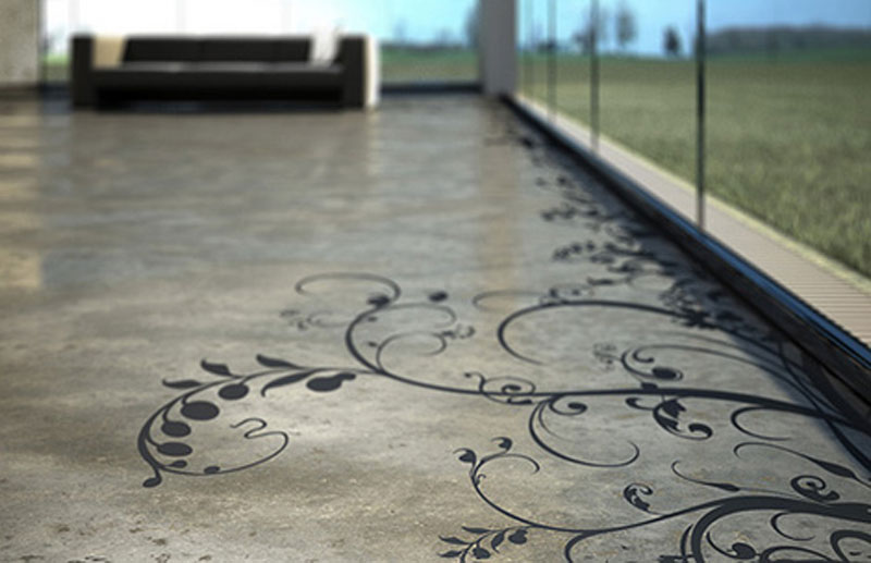 concrete floor coating types