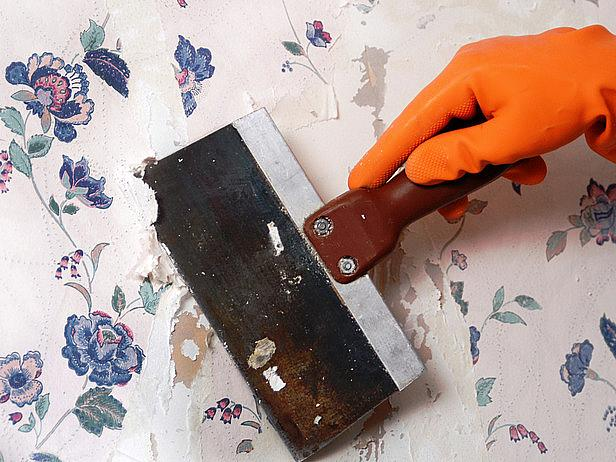 wallpaper removal how to build a house