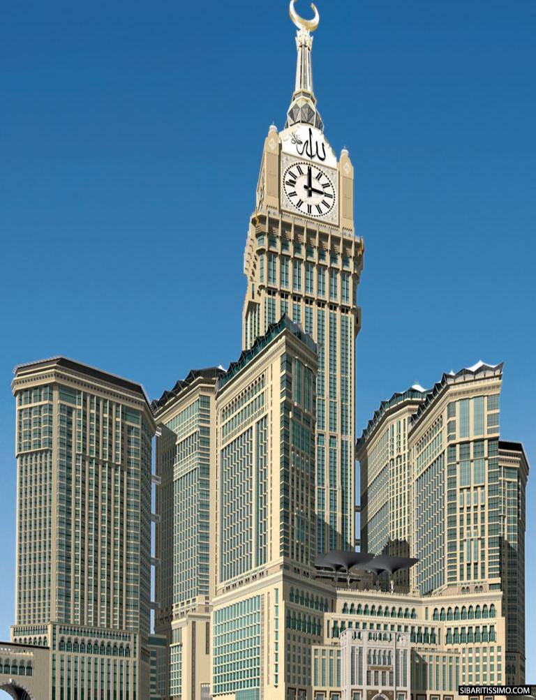 Makkah Clock Royal Tower - Saudi Arabia