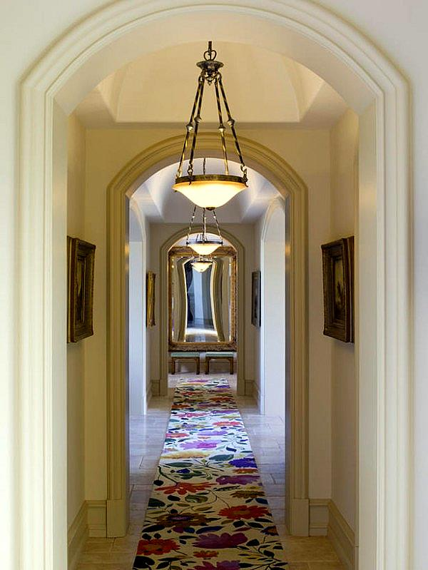 Pendant Light in Hallway