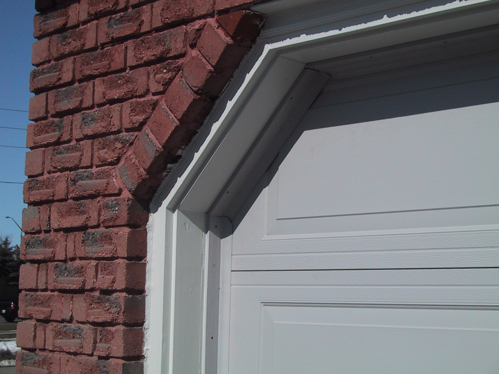 How To Insulate The Gaps Between The Garage Door And Side