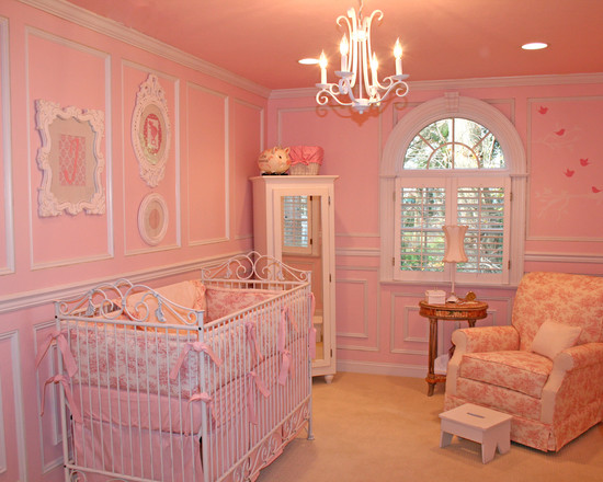 Newborn 39 s room decorating how to build a house Decorating little girls room