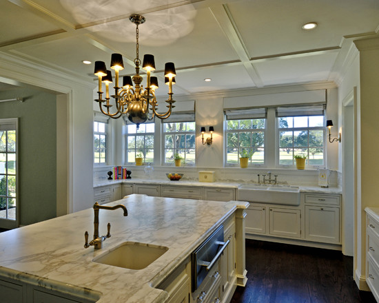 A smart choice for your home brass chandeliers how to build a house traditional kitchen brass chandelier aloadofball Image collections