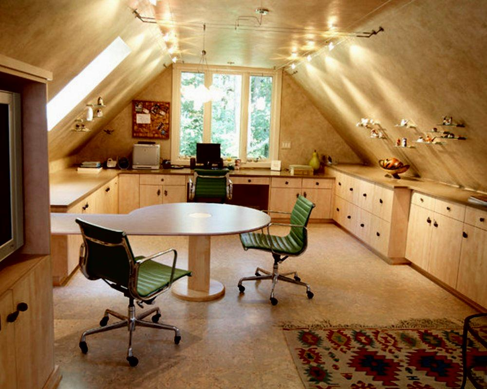 feng shui home office attic. Home Office. Attic Feng Shui Office 1