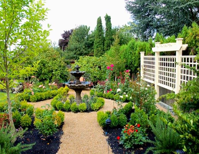 Create a dream garden in five easy steps how to build a for Creating a beautiful garden