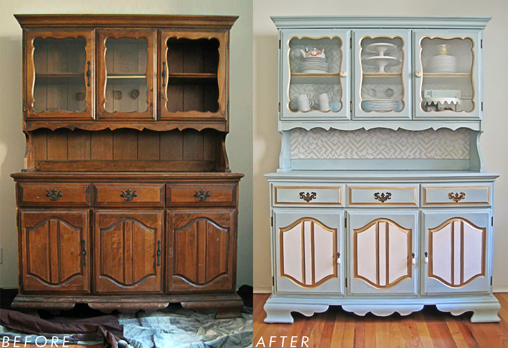 Old furniture painting how to build a house for Reformar muebles antiguos